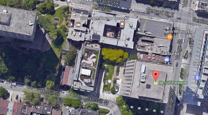 Downtown Toronto building caught directing anti-loitering noise device toward public park