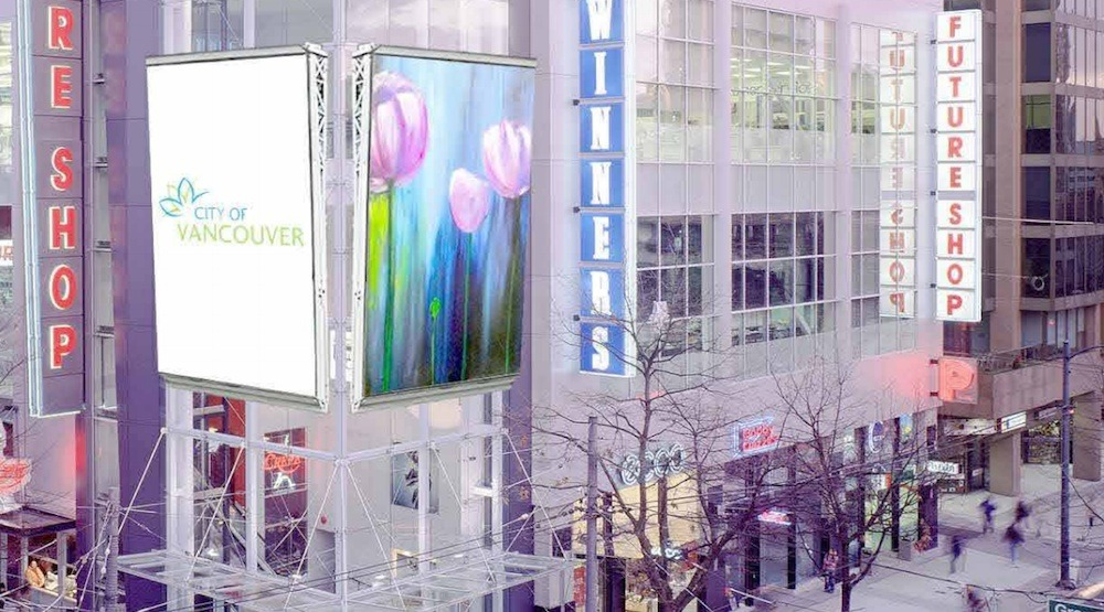 City of Vancouver initiates review of its policies for video screen signs