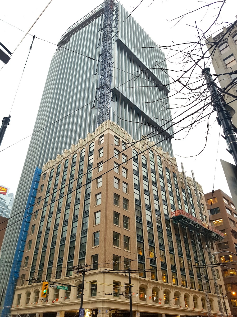 Revised Plans For Under Construction Exchange Tower