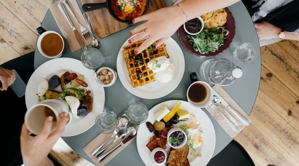 You can have free brunch for two for an entire year