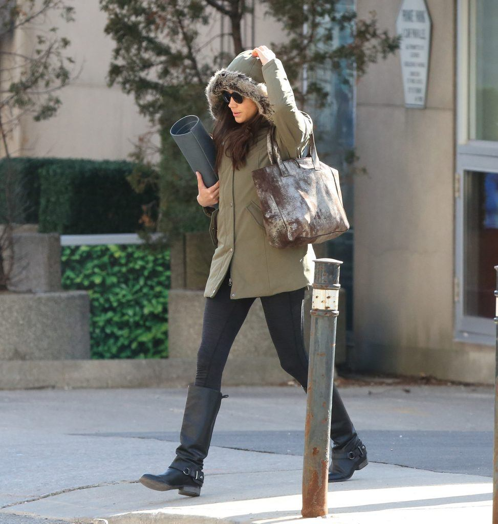 Meghan Markle Spotted For First Time In Toronto Since
