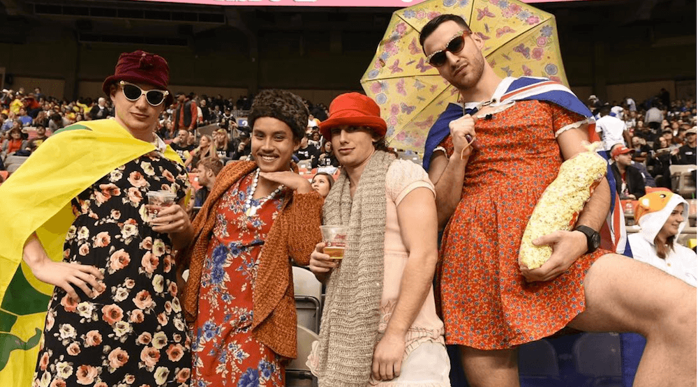 Best dressed fans at Rugby Sevens Vancouver Day 2