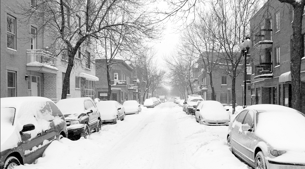 Montreal could get up to 10 cm of snow on Tuesday