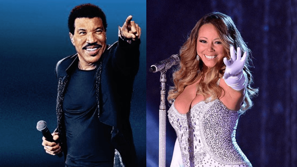 Lionel Richie and Mariah Carey Edmonton 2017 concert at Rogers Place