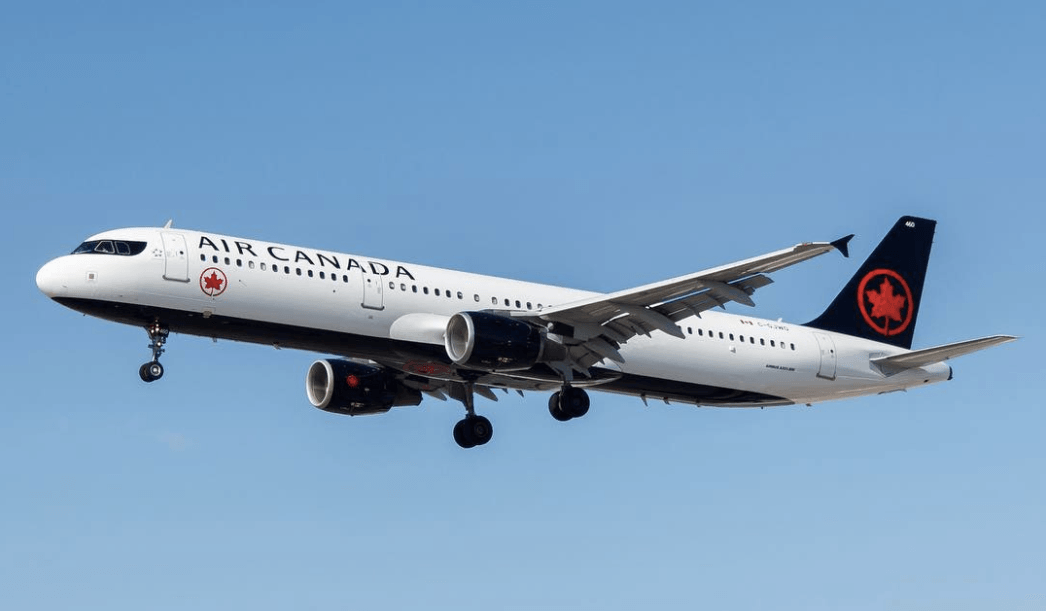 Air Canada will now let you bid to upgrade your seat on select flights