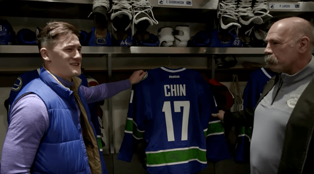 Watch: Full TV episode of Irish athlete who spoke about Canucks drinking culture (VIDEO)