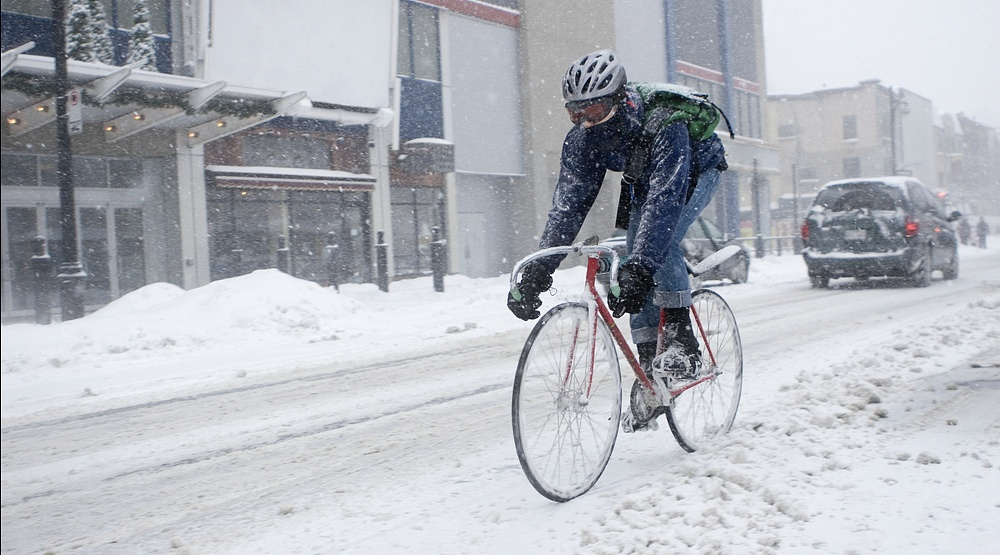 A winter storm warning is in effect for Montreal today