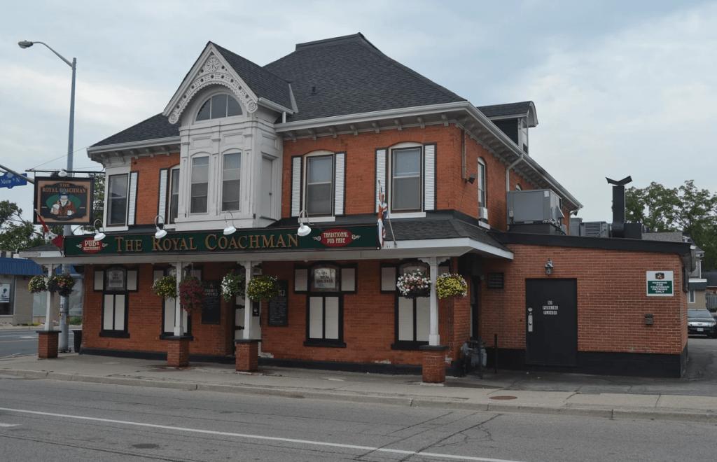 Royal Coachman Pub hamilton