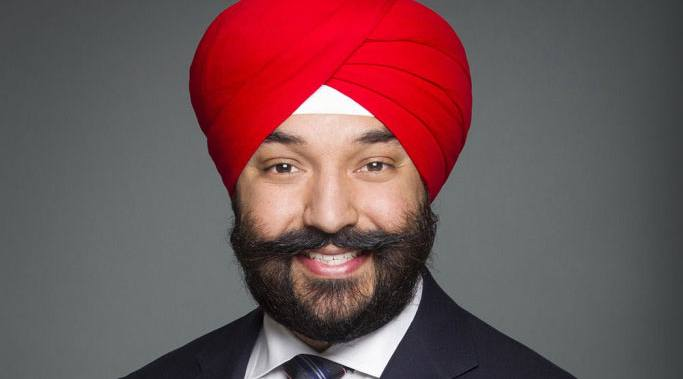minister navdeep bains talks canadian innovation ahead of