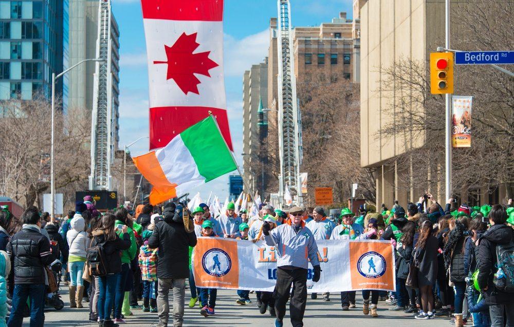 The St. Patrick's Day Parade returns to Toronto this Sunday