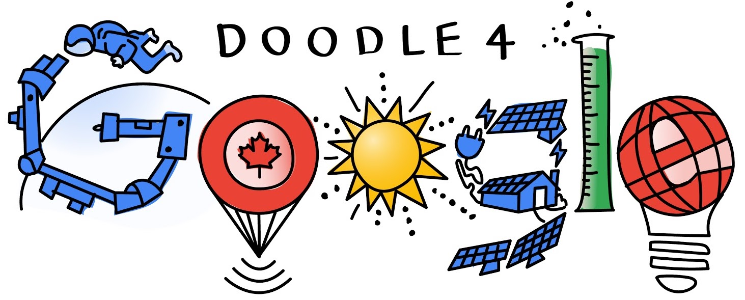 Google is inviting Canadian students to design its logo for Canada's 150th birthday