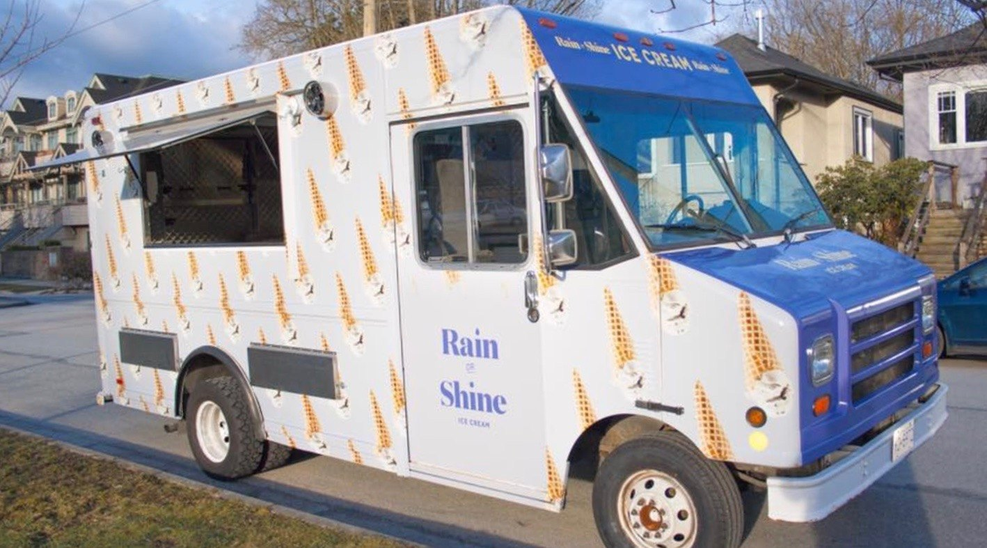 Rain or Shine just unveiled a brand new ice cream truck