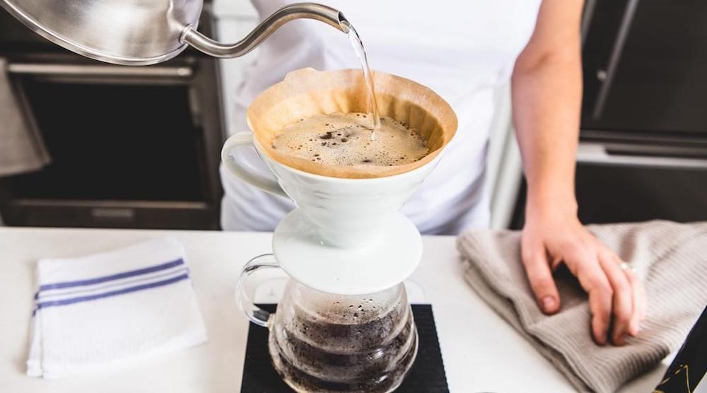 Quantum coffee pourover