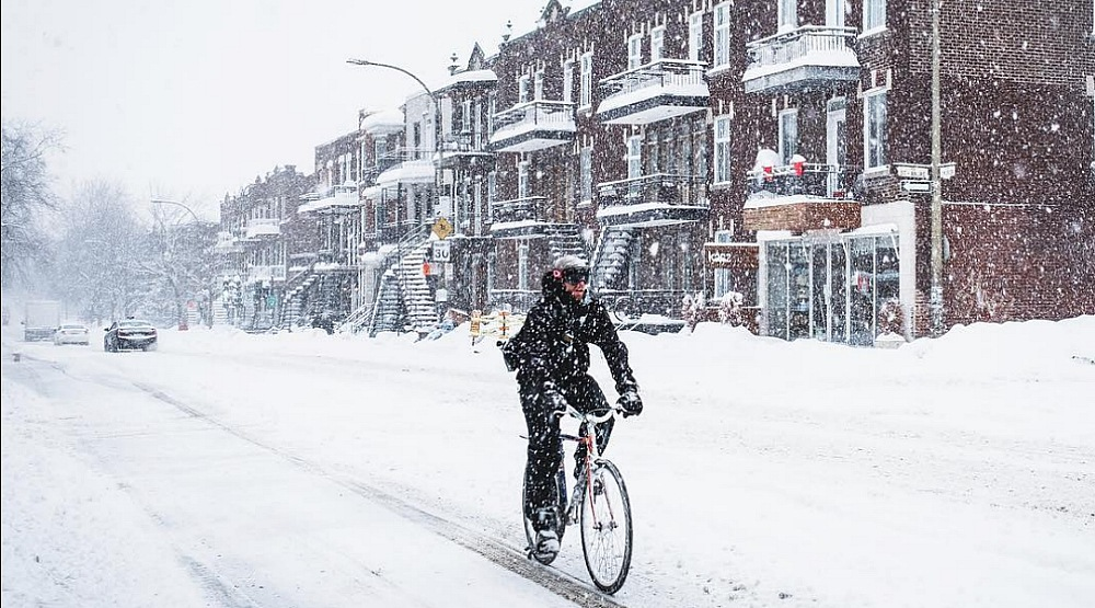 28 photos of yesterdays massive snow storm in Montreal