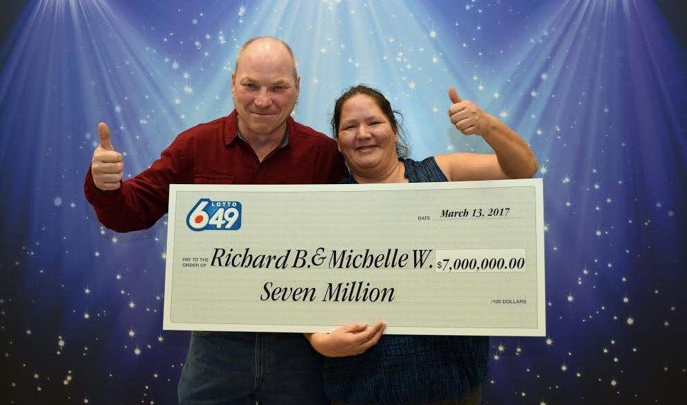 Langley couple win $7 million on Lotto 6/49 ticket