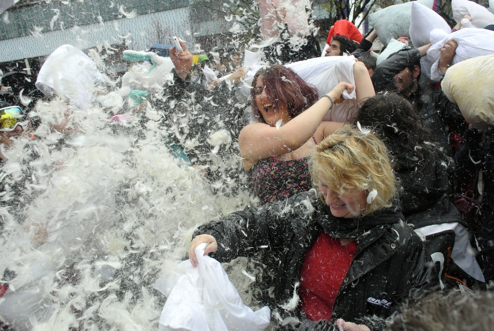 There's a huge pillow fight happening in Toronto next month