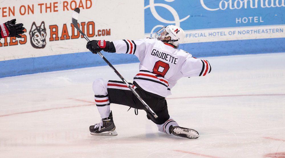 Getting giddy over Canucks prospect Adam Gaudette
