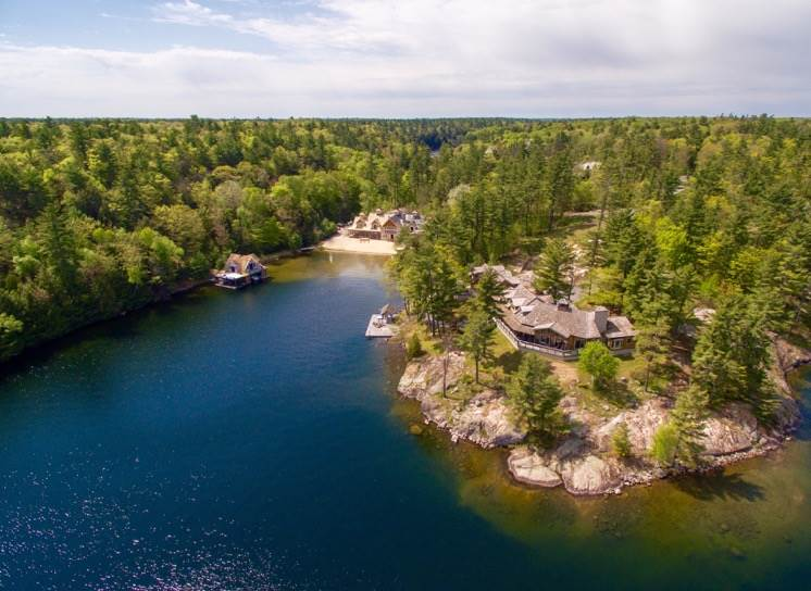 76, 84, 91 Trail's End, Lake Joseph (Christie's)
