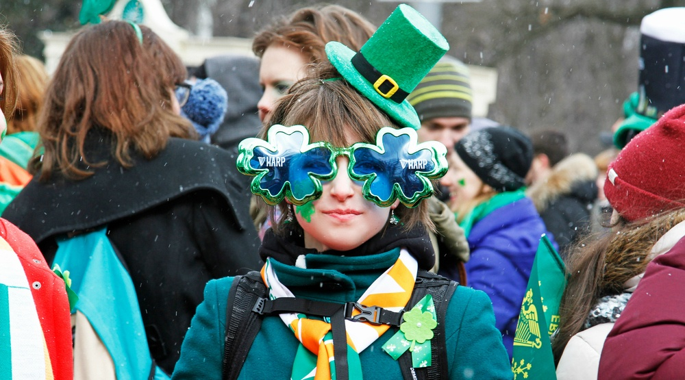 It's going to feel like -9 on St. Patrick's Day in Montreal