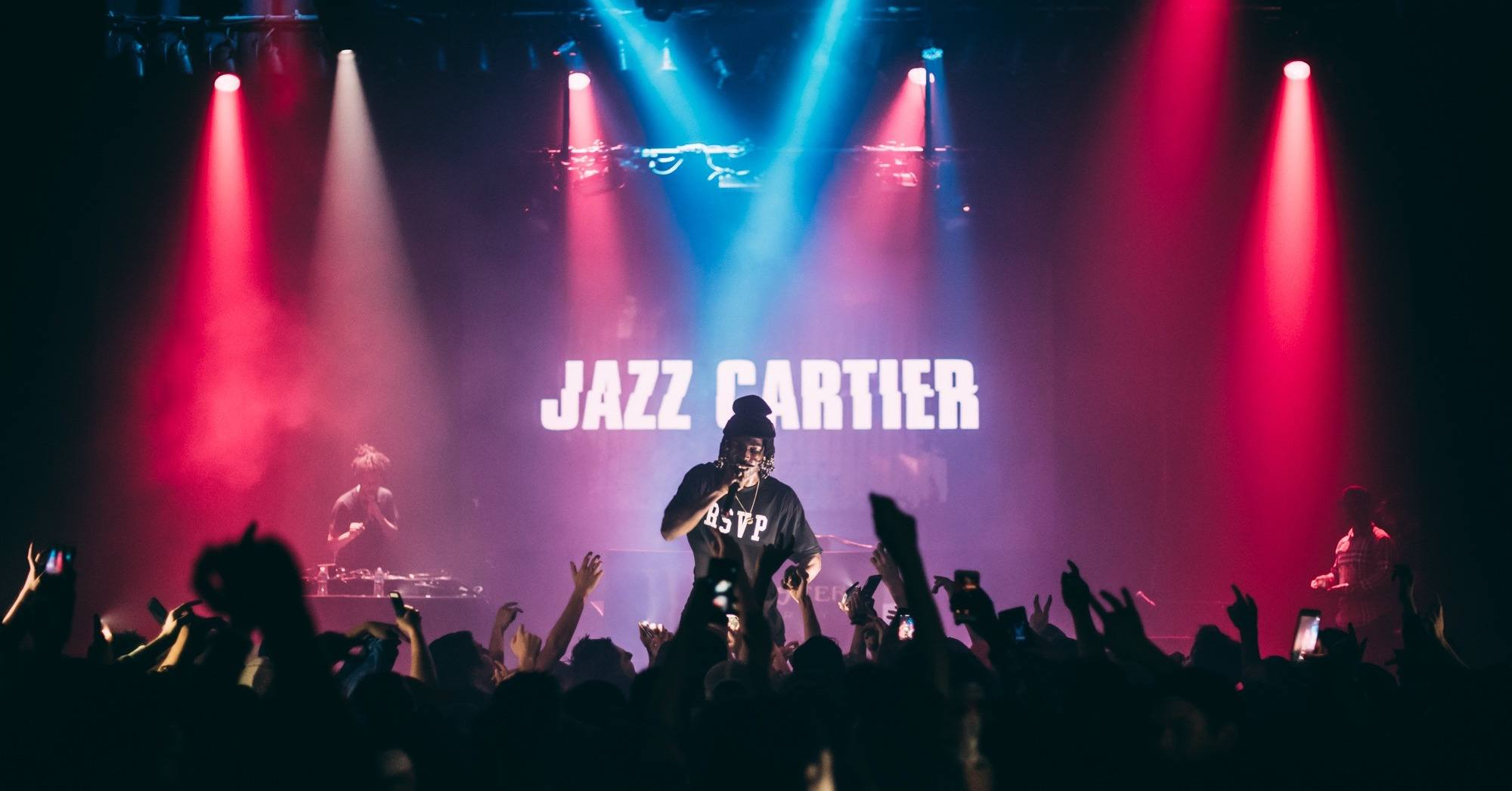 Jazz Cartier Vancouver 2017 concert at Imperial