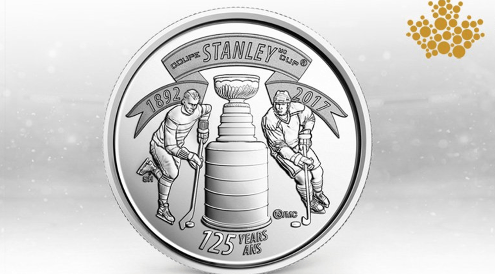 Canadian Mint releases Stanley Cup coin in honour of the trophy's 125th anniversary