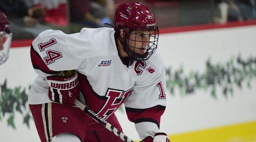 Canucks rumoured to have high interest Hobey Baker Award finalist Alex Kerfoot and he's excited about it
