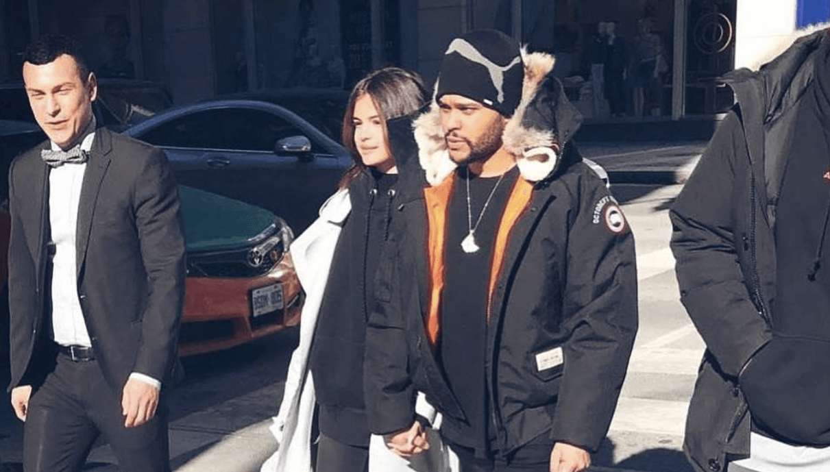 The Weeknd and Selena Gomez spotted in Toronto yesterday (PHOTOS)