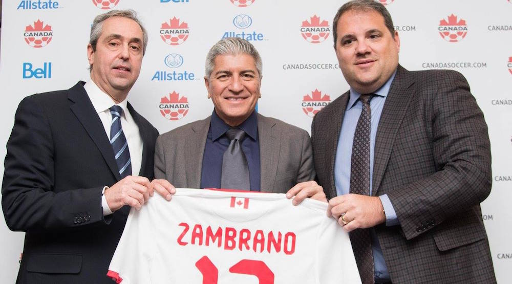 Octavio Zambrano hired as head coach of Canada's Men's National Soccer Team