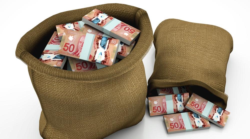 Money bags shutterstock