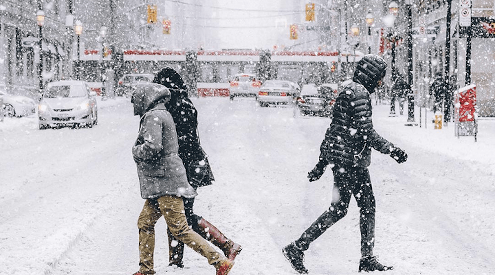 Environment Canada forecasting Toronto's first significant snowfall tomorrow