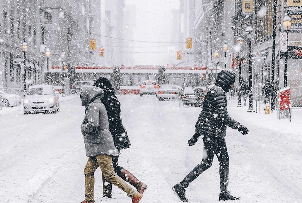 Snow forecasted tonight and Saturday in Toronto