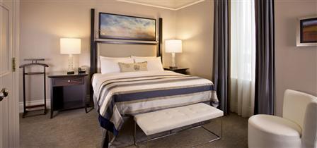 King bed at the Royal Suite, Fairmont Palliser (Fairmont)