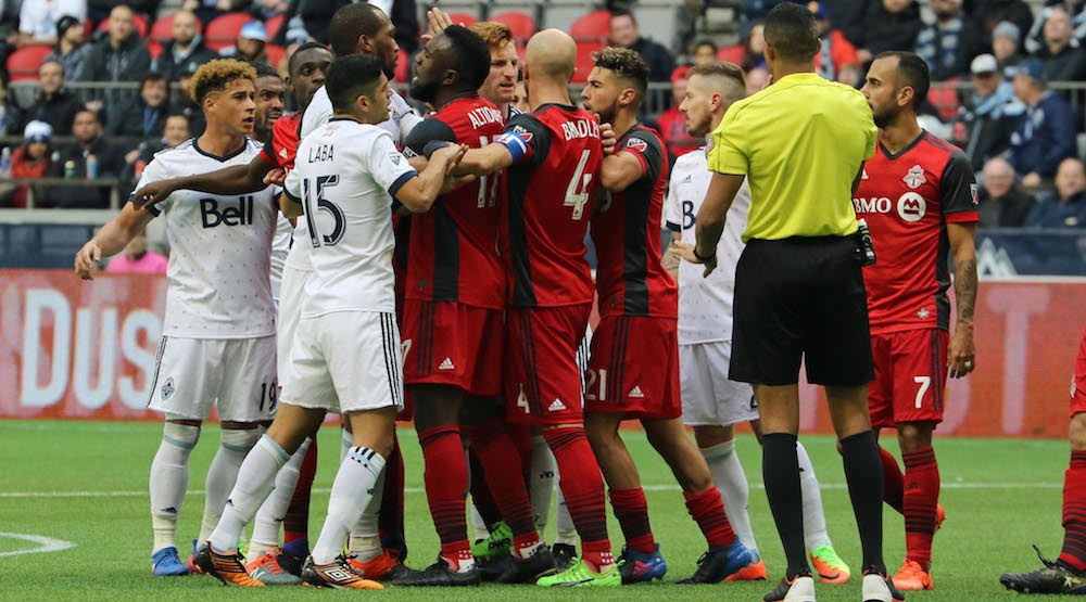 Shea ejected as lack of discipline costs Whitecaps again