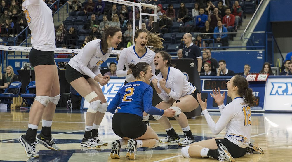 UBC women win volleyball national championship