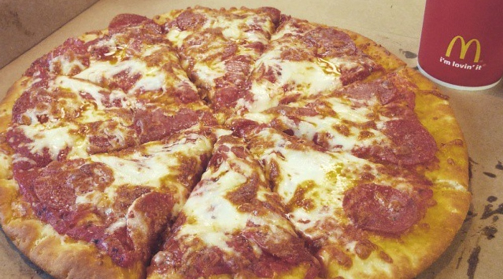 These 3 Canadians drove 800 km for McDonald's pizza (VIDEO)