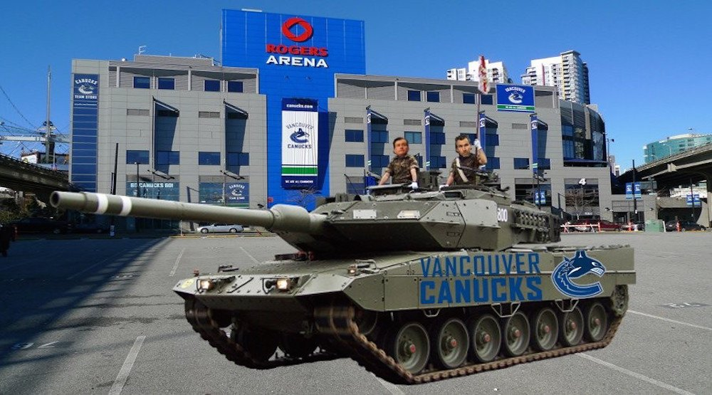 It's must-lose time for the Vancouver Canucks