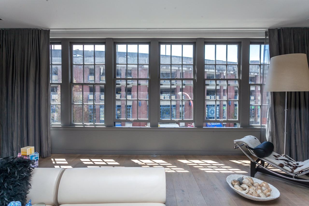 Large windows maximize the potential sunlight (Angell Hasman & Associates (Eric Christiansen) Realty Ltd)