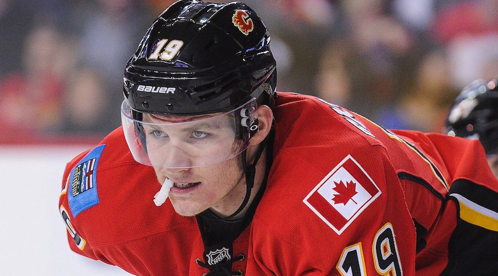 flames tkachuk not afraid of anyone in his rookie season