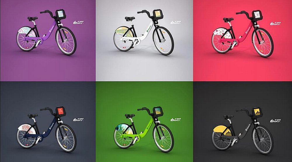 Bixi Bikes are being redesigned in honour of Montreal's 375th anniversary