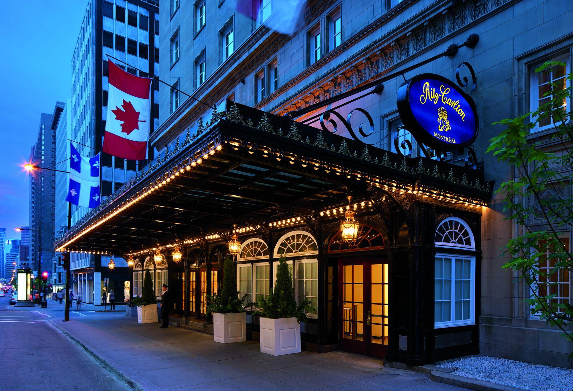 The Ritz Carlton Hotel in Montreal (ritzcarlton)