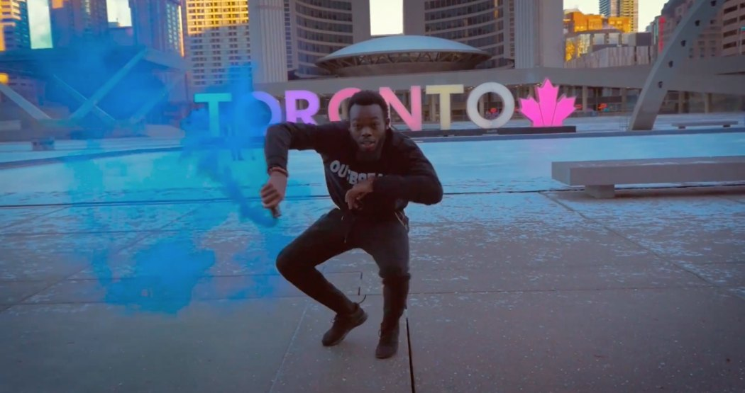 Watch Afro dancing amidst Toronto's most famous landmarks (VIDEO)