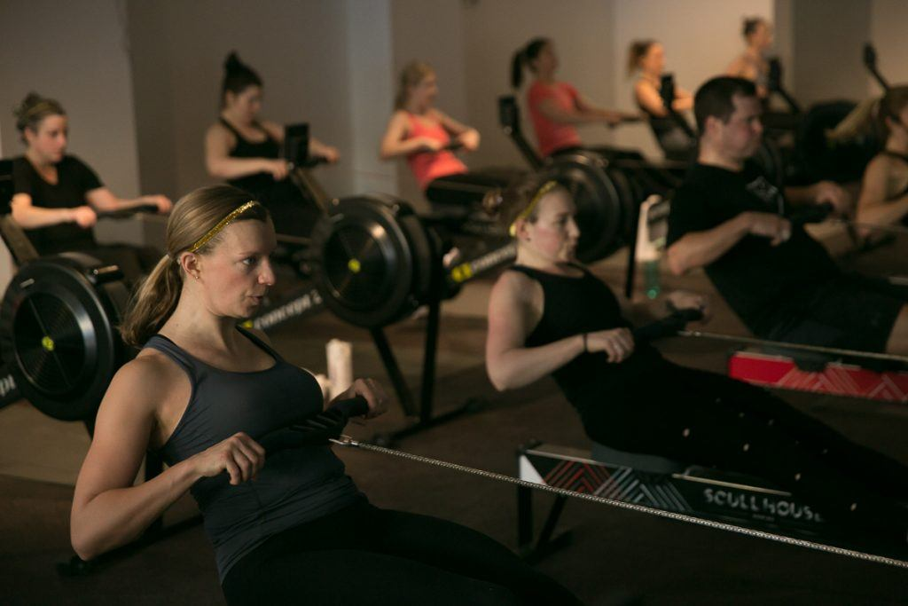 scull house rowing fitness class