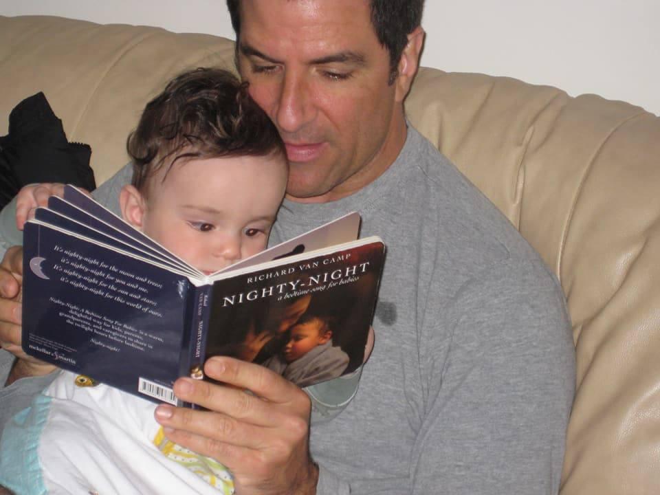 Chris Saini with his son Macallan Wayne Saini (Chris Saini/Facebook)