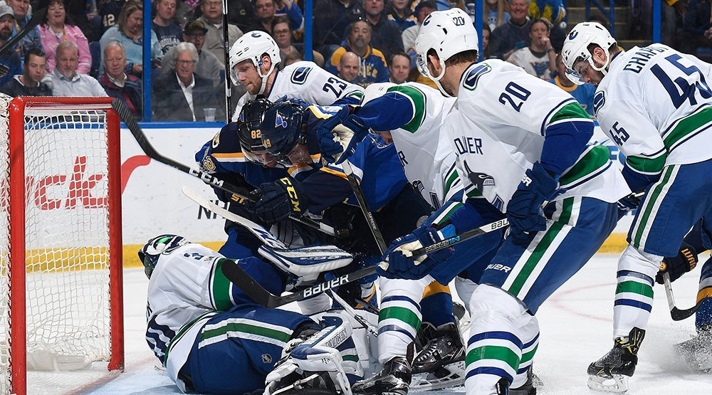SixPack: Canucks eliminated from playoff race with loss to Blues