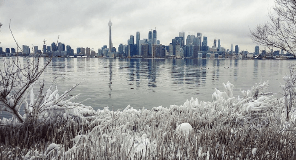 There's freezing rain in the forecast for Toronto this weekend
