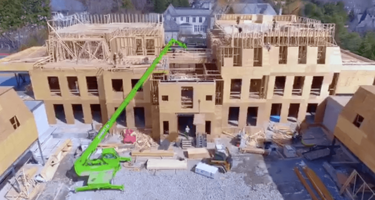 Drone footage shows Drakes new mansion shaping up nicely (VIDEO)