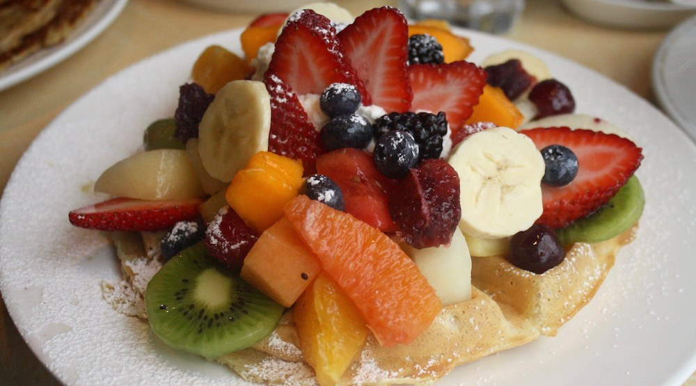 Angelina's Restaurant: Dutch Pannekoeken and the fruit bowl of your dreams