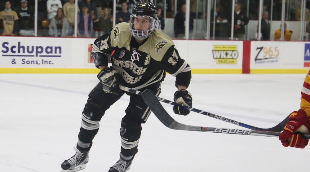 Report: Canucks sign college free agent Griffen Molino