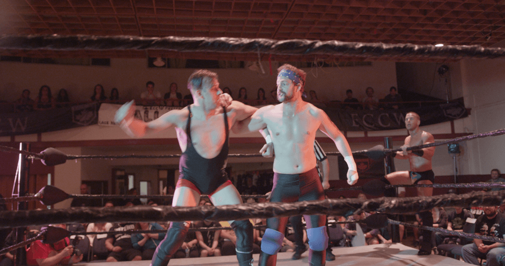 Vancouver film director debuts with wrestling mockumentary