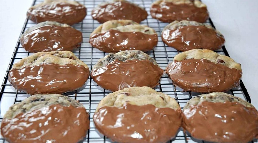 You can get Nutella stuffed chocolate chip cookies in Montreal